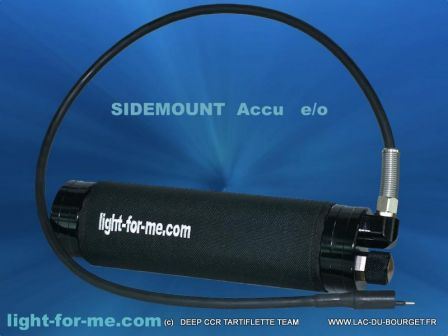 Pack Batterie Sidemount autoswitch Light For Me