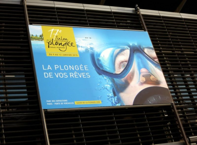 Salon de la plongée Paris 2015