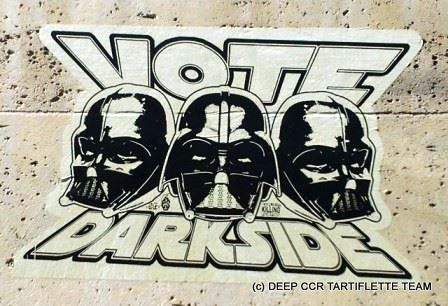 """Vote Darkside"" et plonge en recycleur"