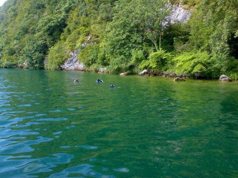 BALME DE PUER site de plongée Bourget