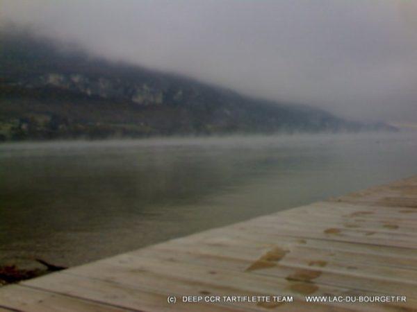 Méteo lac du Bourget et température de l'eau