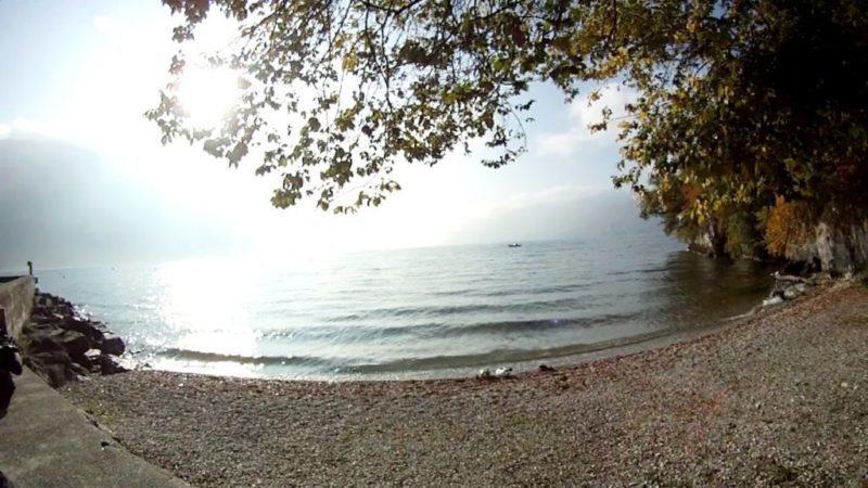 Reprise de la saison de plongée 2009 à Chatillon au lac du Bourget