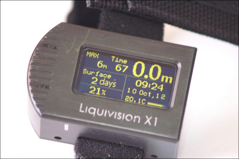 ordinateur de plongée Liquivision X1