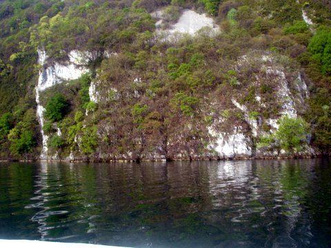 Plongée à grande cale au lac du bourget 12/4/2009