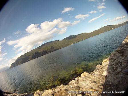 Site de plongée de Pierre à Bise au Lac du Bourget en Savoie