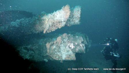 Plongée en recycleur sur l'épave du sous-marin U2511 à Malin Head en Irlande