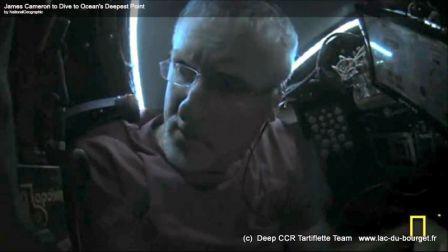 Le fabricant de recycleur AP Diving en charge de la qualite de l'air dans le sous marin de DeepSea Challenger