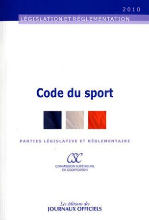 Code du Sport modifié 2012
