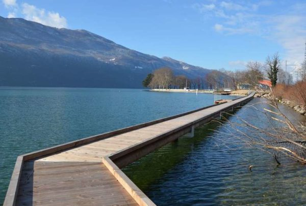 Plongée à la baie de Memard au lac du Bourget à Aix les Bains