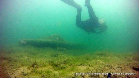 Plongée sidemount Lac du Bourget