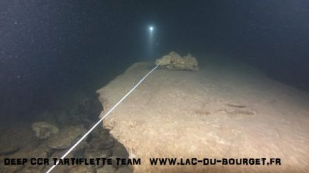 Plongée souterraine à la trémie de Saint Sauveur dans le Lot