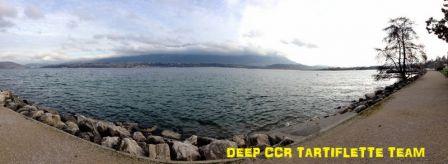 Plongée d'hiver au lac du Bourget