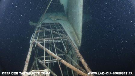 Des news du renflouement de l'épave du FW58 au lac du Bourget pas pour demain ?