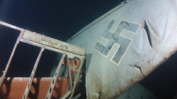 Reportage et débat sur l'épave d'Avion du FW58 du lac du Bourget