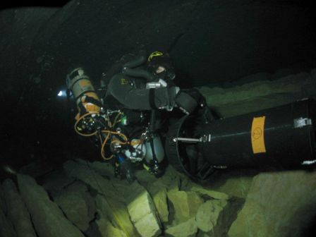 Scooter sous-marin de plongée