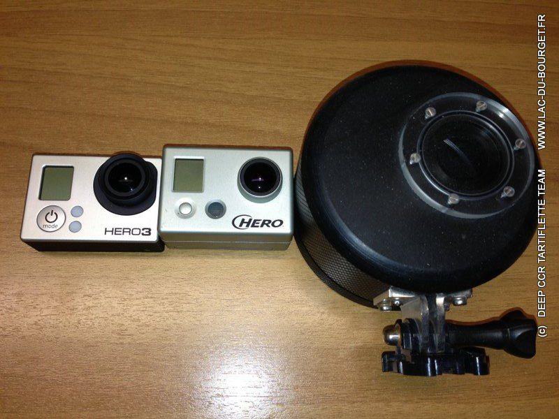 Caisson etanche 200m Gopro Hero3 Deep CCR Tartiflette Team