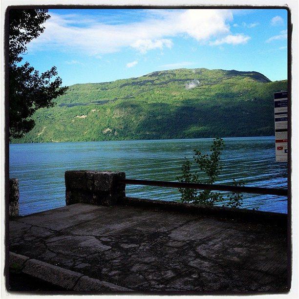 Plongée sidemount à Challière au lac du Bourget