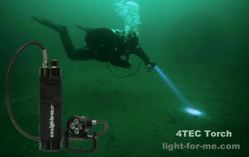 Phare de plongée 4TEC Light For Me