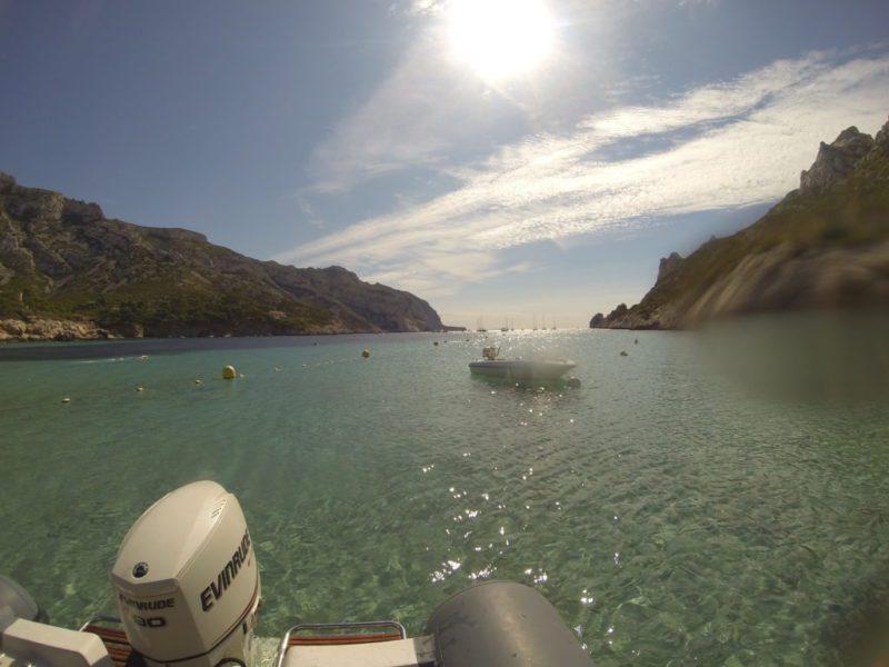 Bapteme de plongée dans la calanque de Sormiou à Marseille
