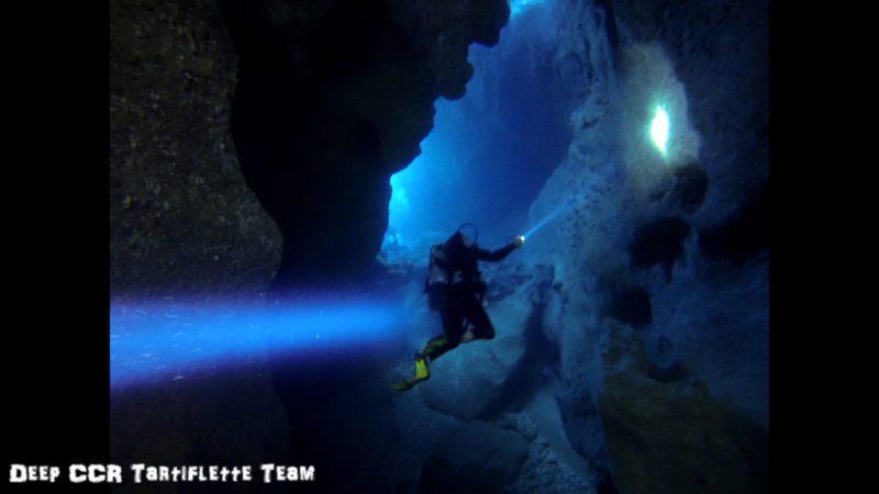 Plongée dans les grottes de Sormiou