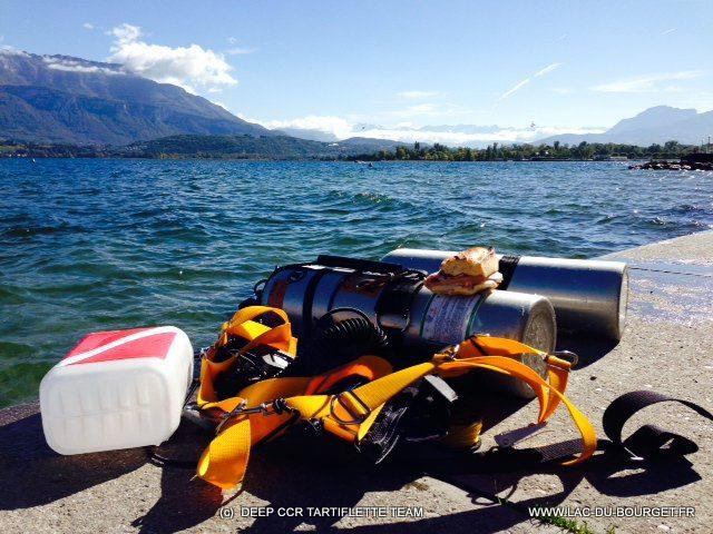 Plongée Sidemount à Charpignat au Lac du Bourget