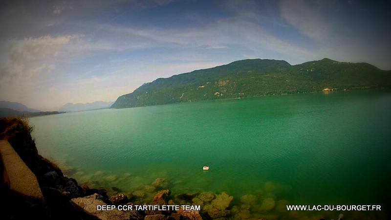 Visibilité de Merde.... dans mon lac ! Plongée à 105 mètres en recycleur lac du Bourget pierre à Bise 22-6-14