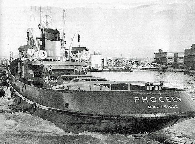 Le Phoceen qui a tracté la barge La Major