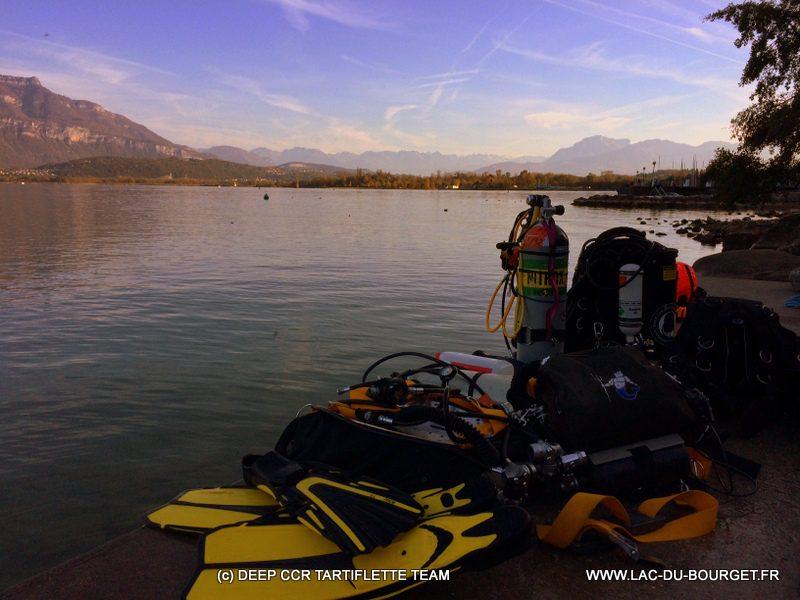 Exercices Double recycleur au Lac du Bourget