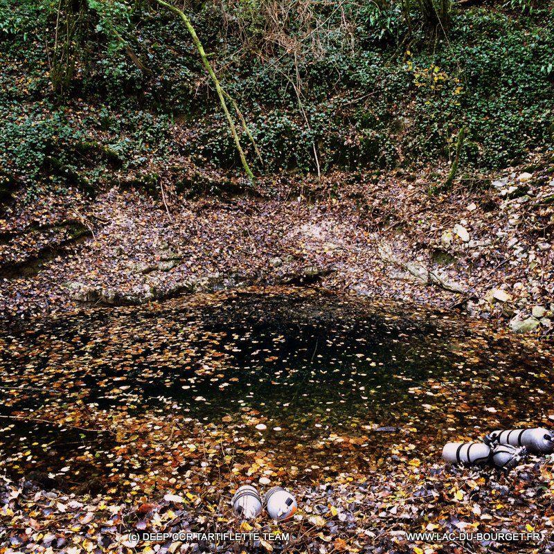 Plongée souterraine source de la Finou