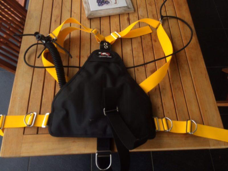 Matériel de plongée Harnais & Wing Sidemount