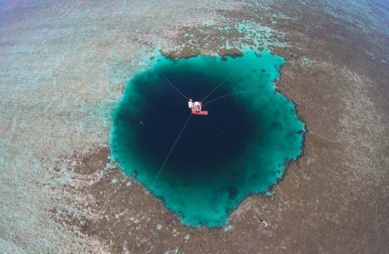 Le puits géant a été découvert dans la mer de Chine méridionale