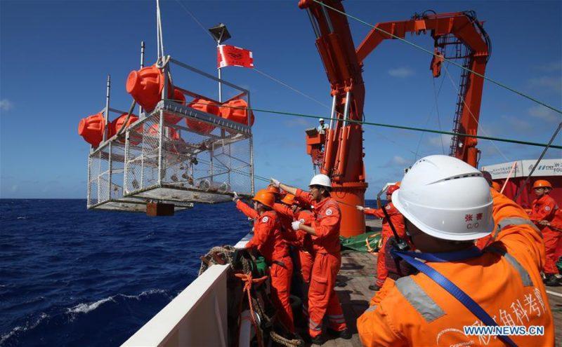 Sous-marins chinois sans pilote à 10000 mètres de profondeur dans la fosse des mariannes