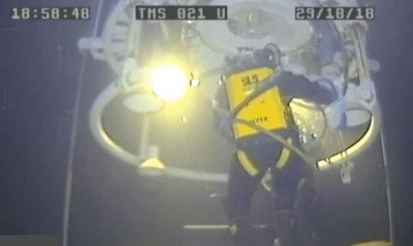 Les plongeurs russes atteignent un record de 416 mètres en mer du Japon